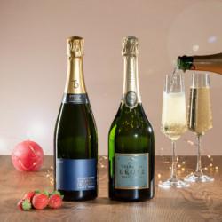 coffret champagne personnalisé