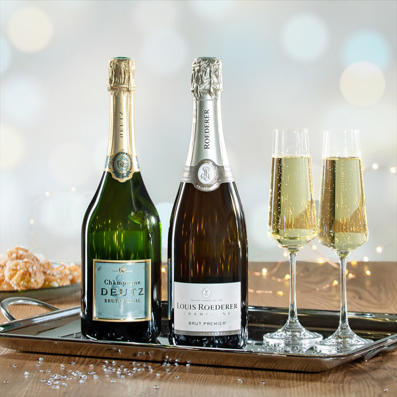 offrir coffret champagne