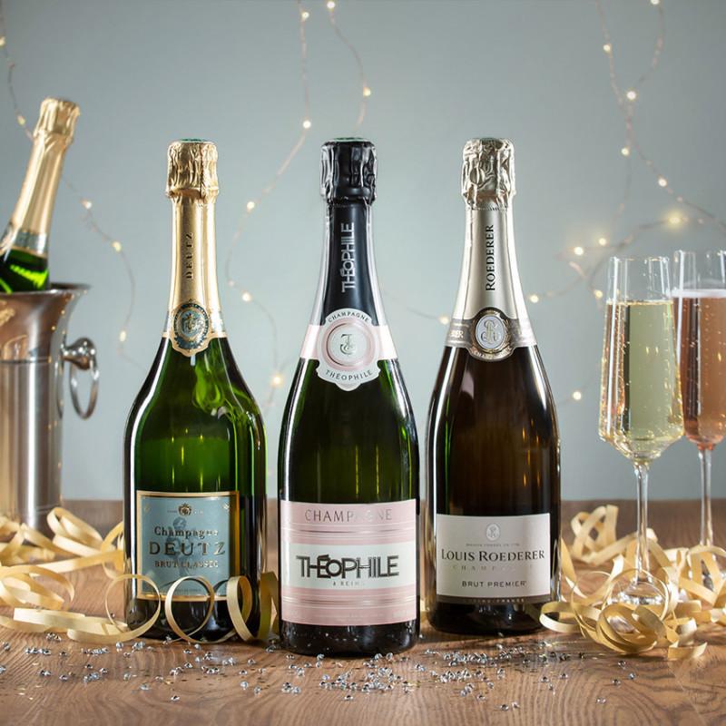 coffret bouteille champagne