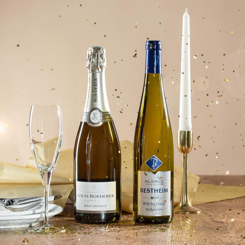 offrir vin champagne
