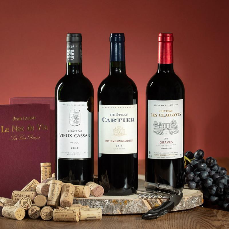 coffret vin bordeaux