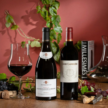 coffret vin grand cru