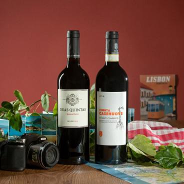 coffret cadeau vin etranger