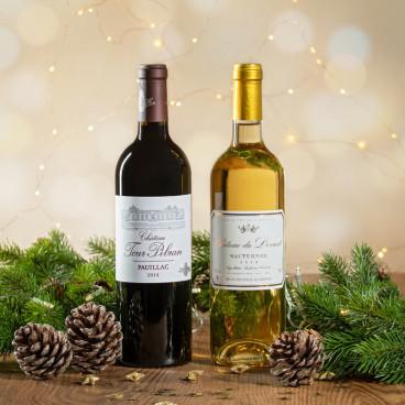cadeau vin noel personnalisé