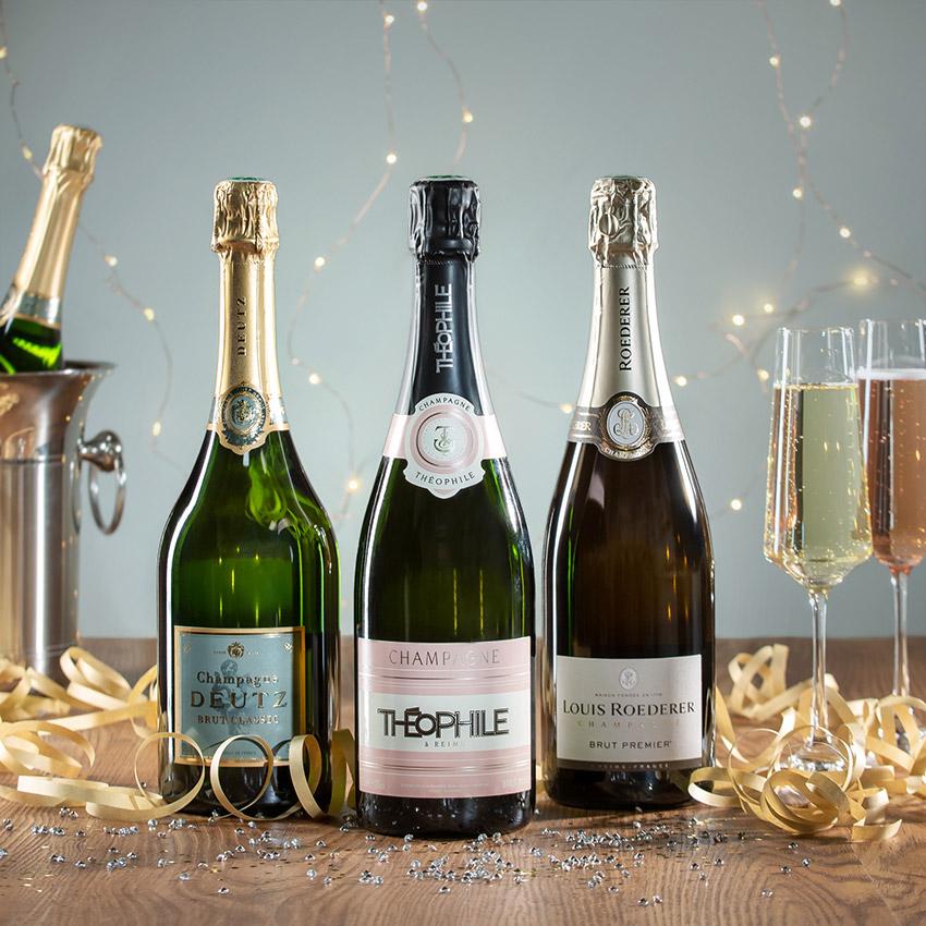 coffret champagne luxe
