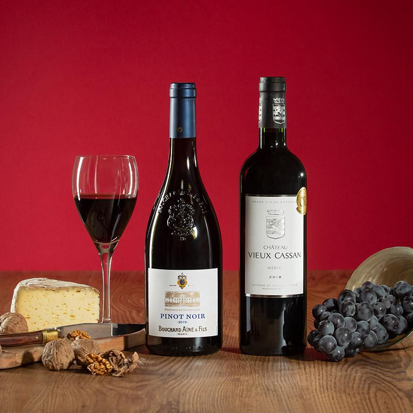 coffret vins cadeau remerciement