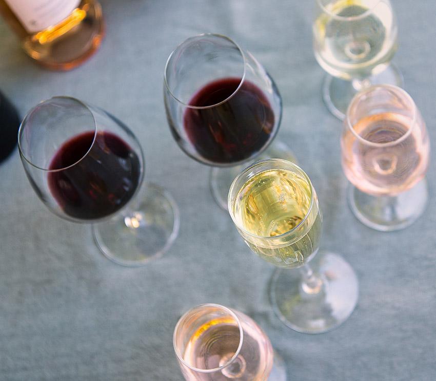 offrir vin rouge rosé blanc